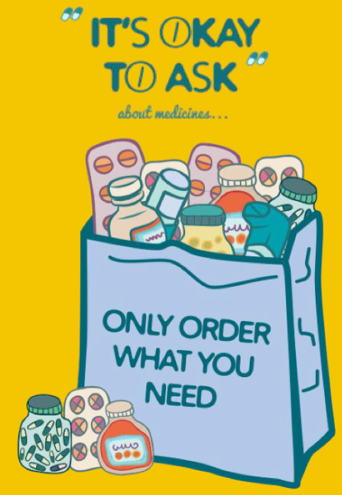 It's Ok to ask about Medicines - Only Order What You Need